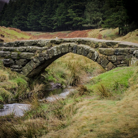 Bridge in the Peak District